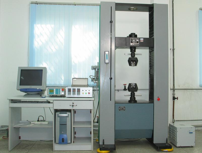 Электронная машина для испытания на растяжение