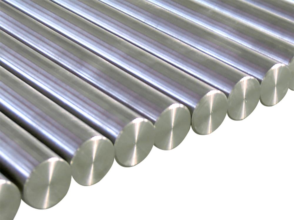 Titanium bar.